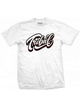 Tribal T-shirt (Eksen Script) - White