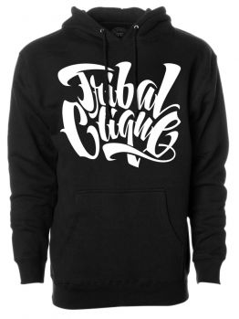 Tribal Hoodie (Friks Clique) - Black