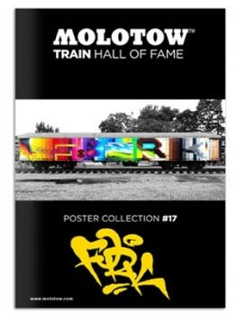 Molotow Train Hall Of Fame Collection Fork4  #17