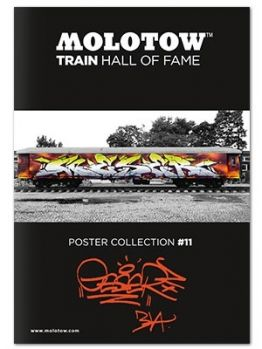 Molotow Train Hall Of Fame Collection Geser #11