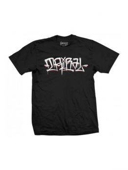 Tribal T-shirt (Happy Flares) - Black