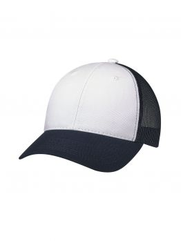 Blanks - Trucker Hat -White/Blue