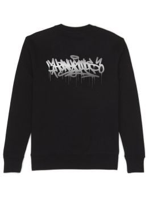 Heavy Goods Sweater (Chrome Dripper) - Black