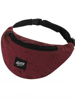 Hektik hip bag - Maroon/Black