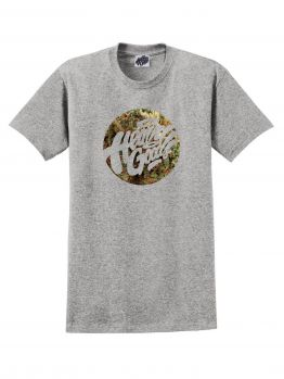 Heavy Goods T-shirt (Mary Jane Logo) - Grey