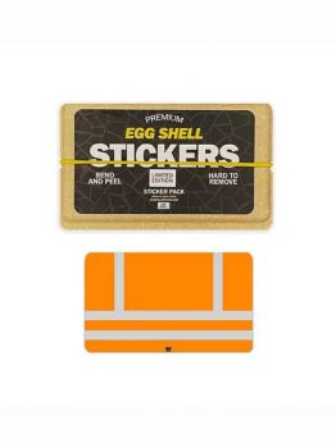 Egg Shell Sticker Pack (Orange Vest) - Limited Edition