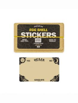 Egg Shell Sticker Pack (Ouija Board) - Limited Edition