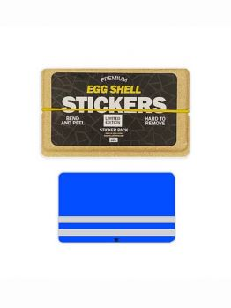 Egg Shell Sticker Pack (Blue Vest) - Limited Edition