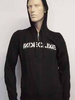 Indecline Zip Hoodie (Indy) Black
