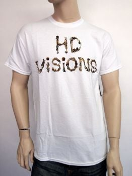 HD Visions t-shirt (Magic Mushrooms) - White