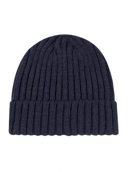 Blanks - Jersey Knit Beanie (Navy Blue)