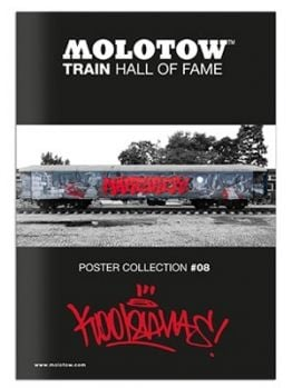 Molotow Train Hall Of Fame Collection Kool Savas #08