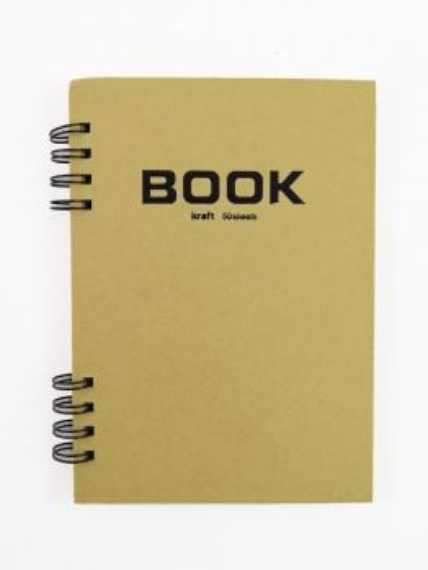 Potentate Kraft Sketch BOOK (A4) - 210mm X 290mm