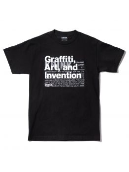 Krink T-shirt (Graffiti, Art, Invention) - Black