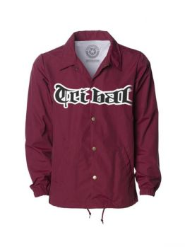 Tribal Coach Jacket (KUYA) - Burgundy
