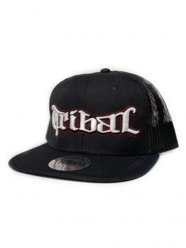 Tribal Snapback (Kuya Mesh Trucker) - Black