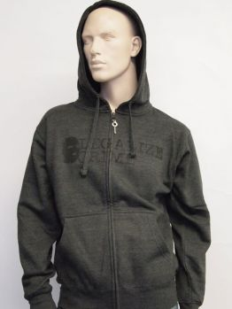 Indecline Zip Hoodie (Legalize) Grey