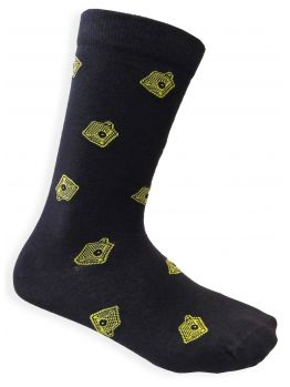 Bombing Science socks (Lego Caps) - Black