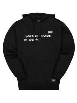1up Hoodie (Let Loose) - Black