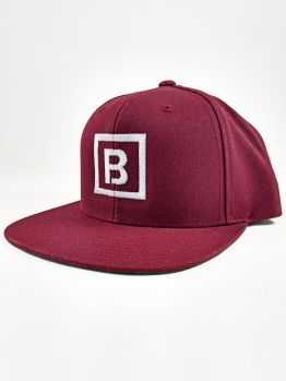 Bombing Science Snapback (Squared) - Burgundy