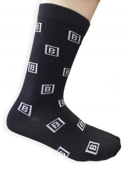 Bombing Science socks (Logo) - Black