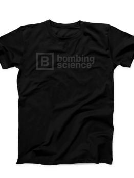 Bombing Science t-shirt (Classic Logo) - Black