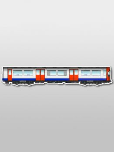 MetroMagnetz - London 1973 Subway Magnet (2.7''x15'')