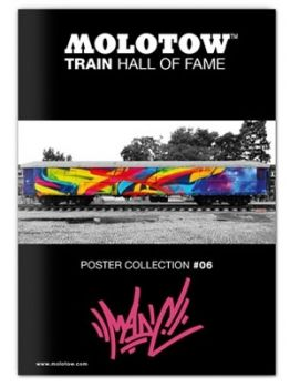 Molotow Train Hall Of Fame Collection Mad C #06