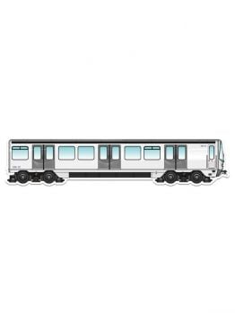 MetroMagnetz - Marseille Metro Magnet MMP76 (3''x12'')