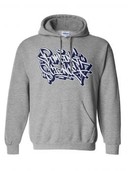 Bombing Science hoodie (Meas Handstyle) - Athletic Grey