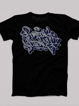 Bombing Science t-shirt (Meas Handstyle)  - Black