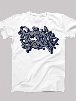Bombing Science t-shirt (Meas Handstyle)  - White