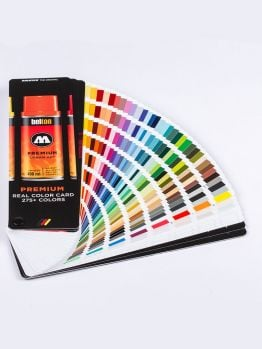 Molotow REAL COLOR CARD 275+ colors
