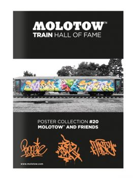 Molotow Train Hall Of Fame Collection Boogie, Cenz and Taste #20