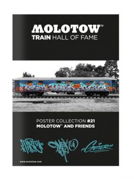Molotow Train Hall Of Fame Collection Taste, OMSK and Geser #21