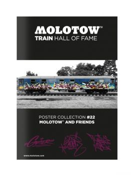 Molotow Train Hall Of Fame Collection Geser, Slider and Kaisy #22