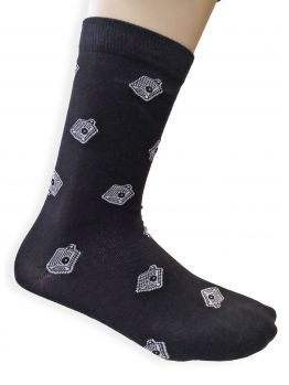 Bombing Science socks (NY Fats) - Black