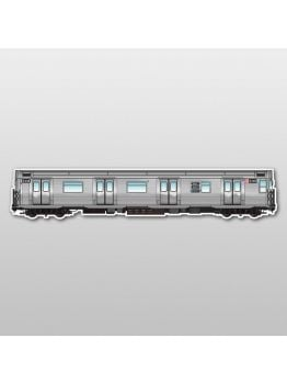 MetroMagnetz - New York R32 Subway Magnet (3''x15'')