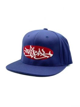 Tribal snapback (Oval) - Navy