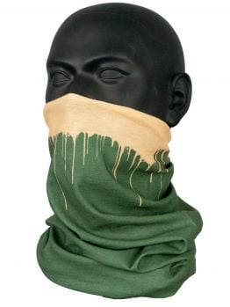Inflava Bandana (Drips) - Green
