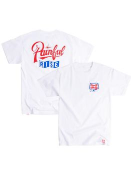 BANDIT-1$M T-shirt (Painful Rise) - White