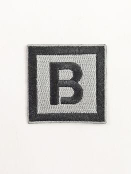 Bombing Science Iron-On Patch (Squared)