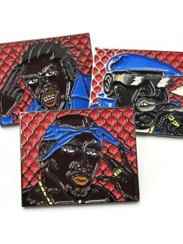 Studio BSB Rap Legends pin set