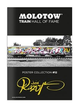 Molotow Train Hall Of Fame Collection Razor #12
