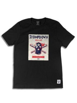 Ephin T-Shirt (Slow Burn) - Black