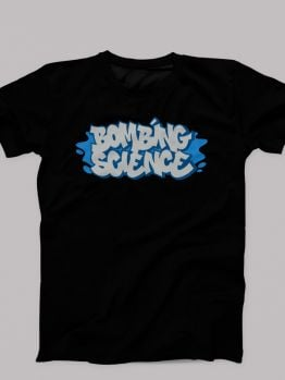 Bombing Science t-shirt (Fresh and Clean) - Blue