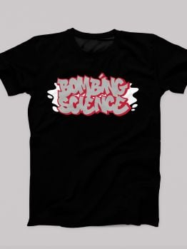 Bombing Science t-shirt (Fresh and Clean) - Red