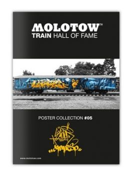 Molotow Train Hall Of Fame Collection Slider & Caparso #05
