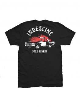 Indecline T-shirt (Stay Warm) - Black
