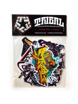 Tribal Sticker pack - Color pack